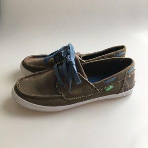 Sanuk Boat Shoes Size 7